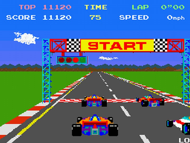 Wanted in a Racing Game