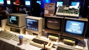 The Museum features dozens of antique computers and consoles set up for free play.