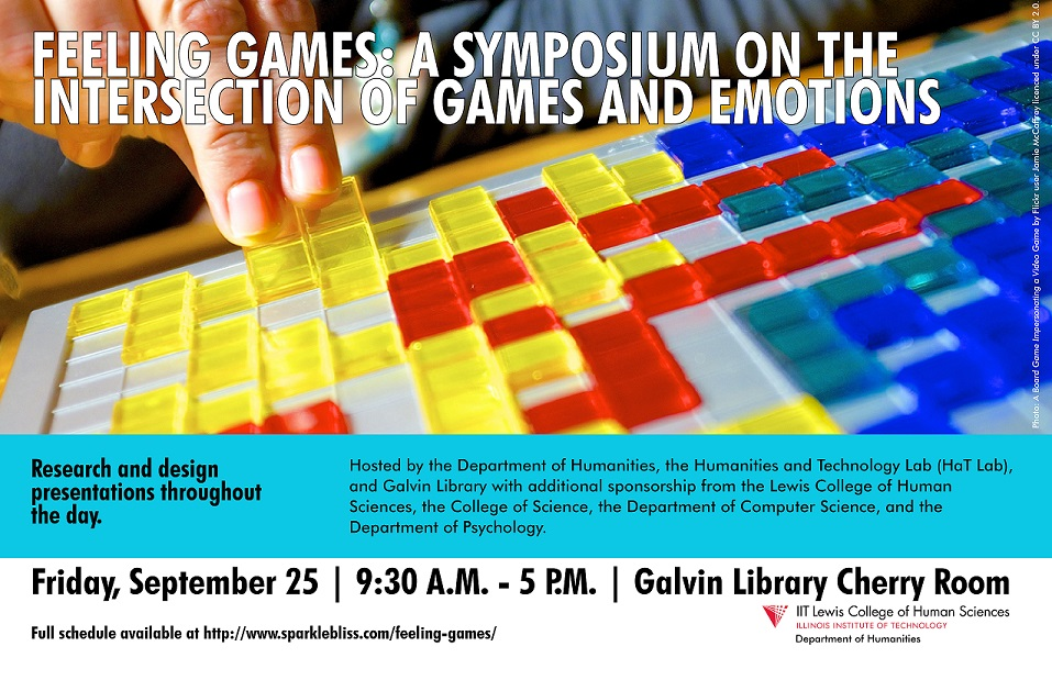 Announcing Feeling Games Symposium