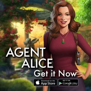 An advertisement for Agent Alice.