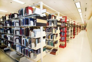 Some of the stacks at the Brian Sutton-Smith Library and Archives of Play. (Image from here: http://www.museumofplay.org/about/library-archives-play)